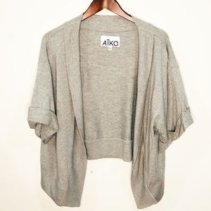 AIKO Open Front Cardigan